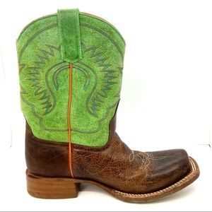 Anderson Bean Boot Company Leather Cowboy Boots 3